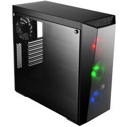 COOLER MASTER Carcasa MasterBox Lite 5, without PSU, 1 to 3 Splitter RGB LED Fans