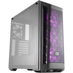 COOLER MASTER Carcasa Middle-Tower ATX, MasterBox MB500,tempered glass