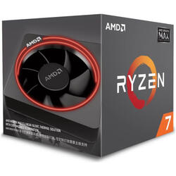 AMD Procesor RYZEN 7 2700 MAX (AM4) 4.10GHZ 8 CORE RGB Wraith Max cooler