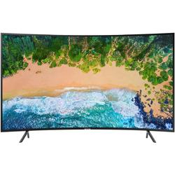 Televizor LED Curbat Samsung 55NU7372, 138 cm, Smart TV 4K Ultra HD