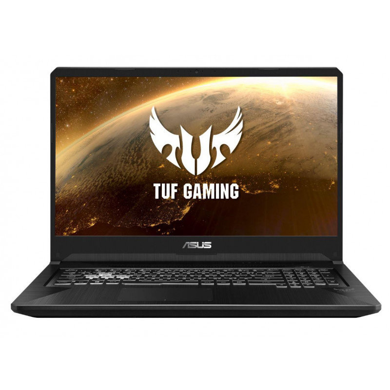 Laptop ASUS Gaming 17.3'' TUF FX705GE, FHD, Intel Core i7-8750H , 8GB DDR4, 1TB SSHD, GeForce GTX 1050 Ti 4GB, No OS, Gun Metal