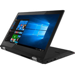 Laptop 2-in-1 Lenovo 13.3'' ThinkPad L380 Yoga, FHD IPS Touch, Intel Core i3-8130U,  4GB DDR4, 256GB SSD, GMA UHD 620, Win 10 Pro, Black