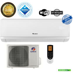 Aparat de aer conditionat Gree Bora A2 White R32 GWH12AAB-K6DNA2A Inverter 12000 BTU, A++,WiFi, kit instalare inlcus