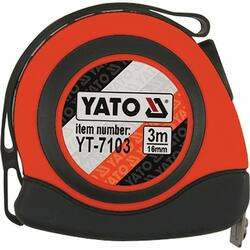 Yato RULETA 3M*16MM NYLON,MAGNET