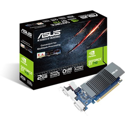 ASUS Placa video NVIDIA GeForce GT710, PCI Express 2.0, GDDR5 2GB