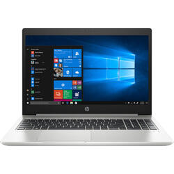 Laptop HP 15.6'' ProBook 450 G6, FHD, Intel Core i5-8265U , 8GB DDR4, 256GB SSD, GeForce MX130 2GB, Win 10 Pro, Silver