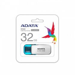 A-Data Memorie USB 32GB, UV240, USB 2.0, Alb