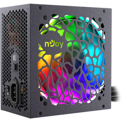 Njoy Sursa ATX 600W Freya, RGB lighting, 80Plus