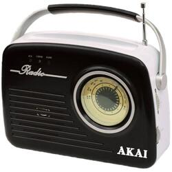 Radio Akai APR-11B, USB, SD card, Negru