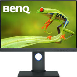 Monitor LED BenQ SW240 24.1 inch 5 ms Gray
