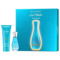 Davidoff Set cadou dama Cool Water Women Wave apa de toaleta 30 ml + lotiune de corp 75 ml