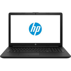 Laptop HP 15.6'' 15-da0181nq, HD, Intel Celeron N4000 , 4GB DDR4, 256GB SSD, GMA UHD 600, FreeDos, Black