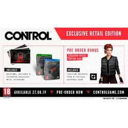 CONTROL DELUXE EDITION - PS4