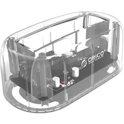 Orico Docking station HDD 6139U3 PRO USB 3.0 2.5/3.5'' transparent