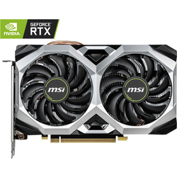 MSI Placa video GeForce RTX2060 VENTUS XS OC, 6GB GDDR6 192bit