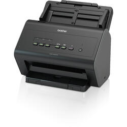 Scanner Brother ADS-2400N format A4, 30 ppm, dual CIS, ADF, retea