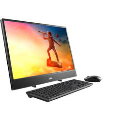 """Sistem All-In-One DELL 23.8"""" Inspiron 3477, FHD IPS, Intel Core i3-7130U 2.7GHz Kaby Lake, 4GB DDR4, 1TB HDD, GMA HD 620, Win 10 Pro"""