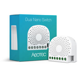 AEOTEC Dual Nano Switch smart home, Z-Wave