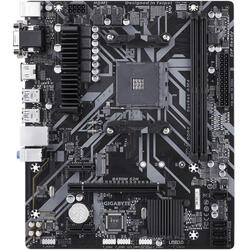 GIGABYTE Placa de baza Socket AM4, B450M S2H