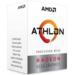 AMD Procesor Athlon 240GE 3.5GHz 2C/4T, socket AM4, Radeon Vega Graphics