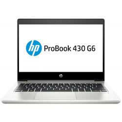 Laptop HP 13.3'' ProBook 430 G6, FHD, Intel Core i5-8265U , 8GB DDR4, 256GB SSD, GMA UHD 620, FreeDos, Silver