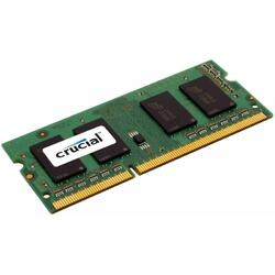 Memorie notebook Crucial 4GB, DDR3, 1866MHz, CL13, 1.35v