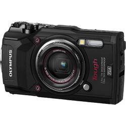 Aparat foto Olympus Tough TG-5, Waterproof, Negru