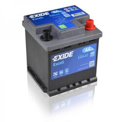 EXIDE Baterie auto Excell 44Ah, 400A