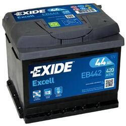 EXIDE Baterie auto Excell 44Ah, 420A