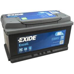 EXIDE Baterie auto Excell 80Ah, 700A