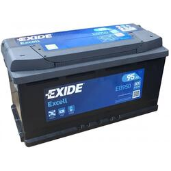 EXIDE Baterie auto Excell 95Ah, 800A