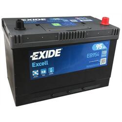 EXIDE Baterie auto Excell 95Ah, 720A