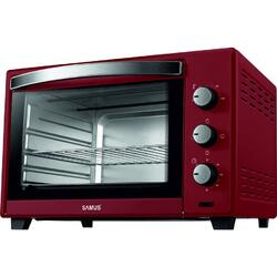 Cuptor electric Samus CS-45RED, 45 litri , 2000 W, Rosu