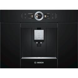 Espressor de cafea incorporabil automat Bosch CTL636EB6, 19 bar, HomeConnect, oneTouch DoubleCup, AromaDouble Shot, display touch, 2.4 l,
