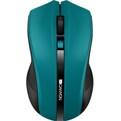CANYON Wireless optical mouse 4 buttons, DPI 800/1200/1600, green