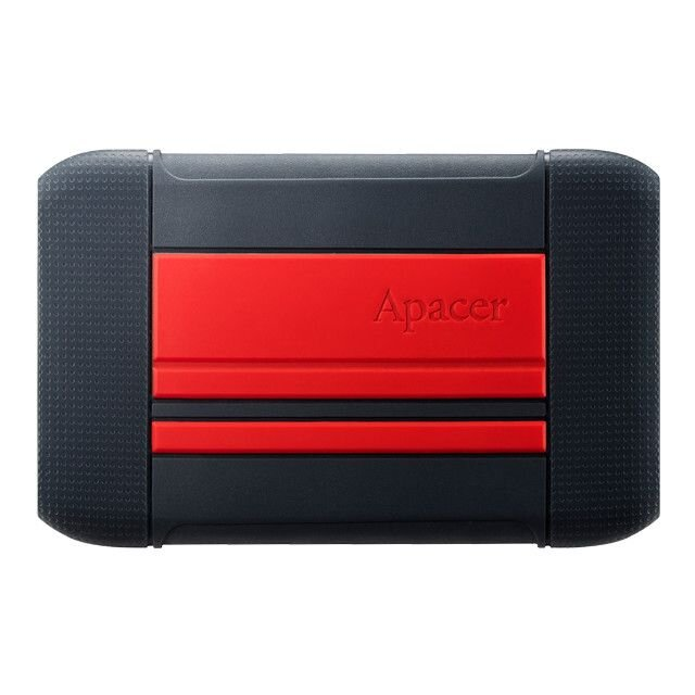 Hdd Extern Ac633 2.5'' 2tb Usb 3.1, Shockproof Military Grade, Red