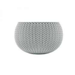 Keter Ghiveci Cozies M Cloudy, gri, 9.4 L