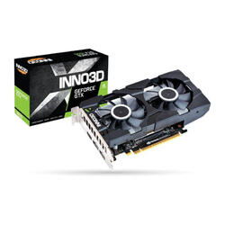 INNO3D Placa video GeForce GTX1650 TWIN X2 OC, 4GB GDDR5, 2xDP, HDMI