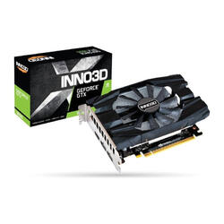 INNO3D Placa video GeForce GTX1650 COMPACT, 4GB GDDR5, 2xDP, HDMI