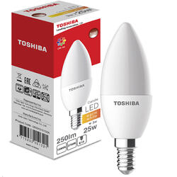 Toshiba Bec LED Candle | 3W (25W) 250lm 2700K 80Ra ND E14