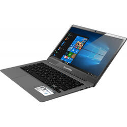 "Laptop 2 in 1 Allview Allbook M Intel Celeron N3350 pana la 2.40 GHz, 13.3"", Full HD, IPS, 4GB, 64GB eMMC, Intel HD Graphics, Microsoft Windows 10, Grey"