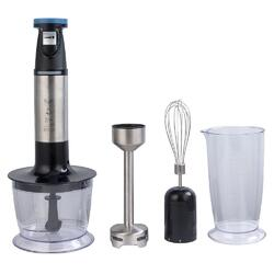 Mixer vertical Studio Casa 4in1 Cooking Expert SC1815, 600 W, 0.7 l, mini tocator, negru/inox
