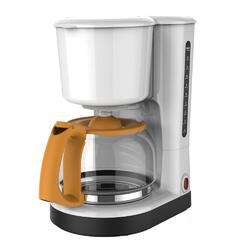 Cafetiera Studio Casa United Colours of Cities FC18.1, 870 W, 1.25 l, carafa sticla, alb/galben