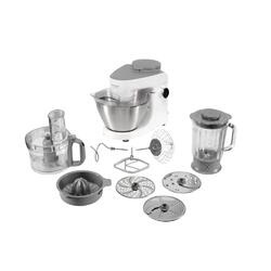 Robot de bucatarie Kenwood Multi One KHH321WH, 1000 W, bol 4.3 l, blender 1.8 l, 6 viteze variabile + Pulse, alb/inox
