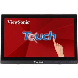 Monitor LED Touchscreen VIewSonic TD1630-3, 15.6inch, 1366x768, 12ms, Black
