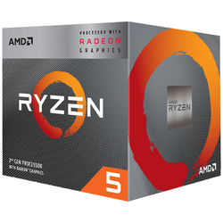 AMD Procesor Ryzen 5 3400G ,4.2GHz,6MB,65W,AM4 box, RX Vega 11 Graphics