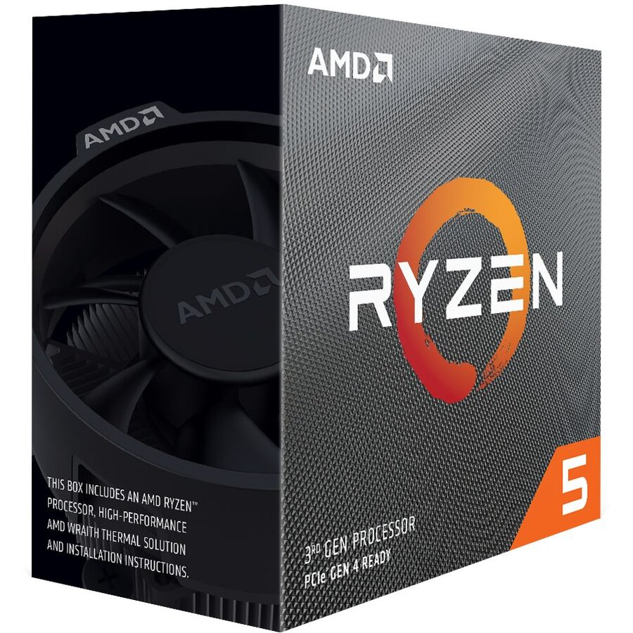 Procesor Ryzen 5 3600 ,4.2ghz,36mb,65w,am4 Box With Wraith Stealth Cooler