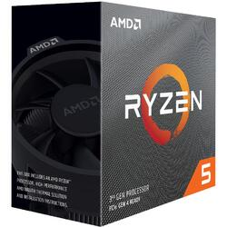 AMD Procesor Ryzen 5 3600 ,4.2GHz,36MB,65W,AM4 box with Wraith Stealth cooler