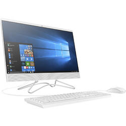 "Sistem All-In-One HP 21.5"" 200 G3, FHD, Intel Core i3-8130U 2.2GHz , 4GB, 1TB HDD, GMA UHD 620, Win 10 Pro, White"