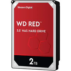 "WD HDD Intern, Red NAS 3.5"", 2TB, SATA3, 5400RPM, 256MB"